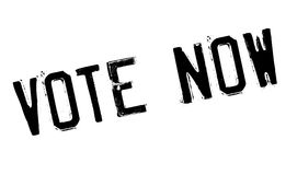 Vote Now rubber stamp Stock Photography