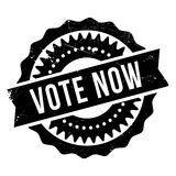 Vote now stamp Royalty Free Stock Images