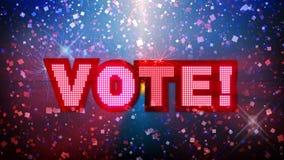 VOTE Party Animation (HD Loop)