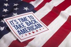 Vote présidentiel de jour d'élection Photographie stock libre de droits