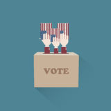 Vote results US Stock Photo