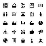 Vote and Reward Vector Icons 6 Royalty Free Stock Photo