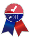 Vote ribbon Royalty Free Stock Photography