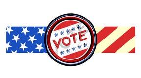Vote ribbon Stock Photography