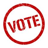 vote stamp stock images