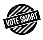 Vote Smart rubber stamp Royalty Free Stock Image