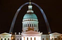 Voûte St Louis de Gateway Image libre de droits