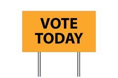 Vote today Stock Photos