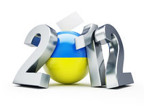 Vote Ukraine 2012 Stock Images