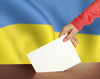 Vote Ukraine Royalty Free Stock Image