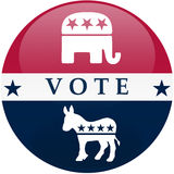 Vote USA Royalty Free Stock Photography