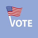 Vote in USA Royalty Free Stock Images