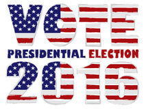 Vote 2016 USA Presidential Election Vector Illustration Stock Photos