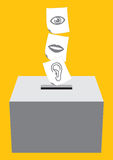 Vote vector Stock Photo