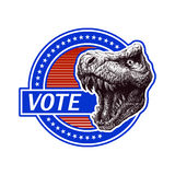 Vote. Vector illustration Stock Photo