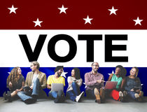Vote Voting Election Politic Decision Democracy Concept royalty free stock photography