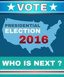 Vote - Who is Next Banner Royalty Free Stock Photo