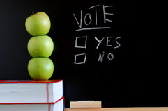 Vote yes or no Stock Photography