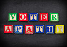 Voter apathy. Civic election concepts Royalty Free Stock Photography