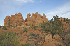 Voûtes N.P. Utah Photos libres de droits