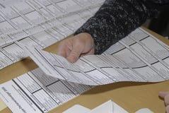 VOTES PRÉPONDÉRANTS DE DANOIS Photo stock