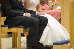 Voti di nozze Fotografie Stock Libere da Diritti