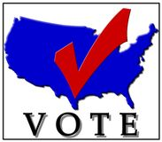 Voting Checkmark Stock Image