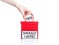Voting concept Royalty Free Stock Image
