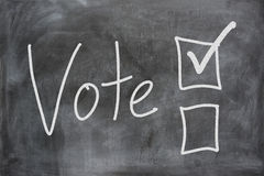 Voting In An Election Stock Images