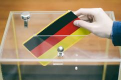 Voting , elections in Germany. Stock Images