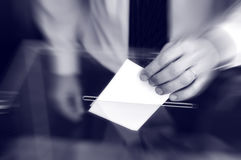 Voting , elections Royalty Free Stock Image