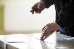 Voting hand Stock Photos