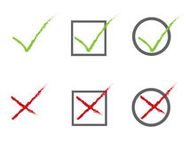 Voting icons Stock Image