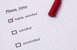 Voting Royalty Free Stock Photography