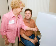 Voting Series - Instructions Stock Photography