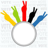 Voting sign Stock Photos
