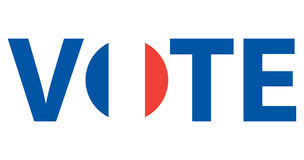 Voting Symbols vector design Royalty Free Stock Image