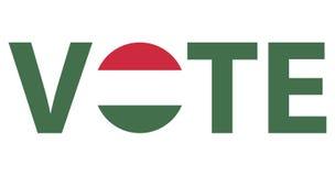 Voting Symbols vector design Stock Photography