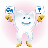 Voting tooth Stock Images