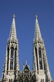 Votiv Church in Vienna Stock Photos