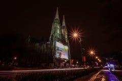 Votiv Kirche Wien Stockbild