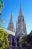 Votive λεπτομέρειες εκκλησιών, Βιέννη Στοκ φωτογραφία με δικαίωμα ελεύθερης χρήσης