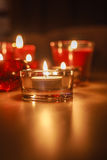 Votive κεριά  Στοκ Φωτογραφία