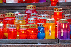 Votive candle Royalty Free Stock Photography