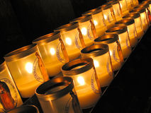Votive Candles Stock Images