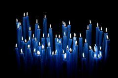 Votive candles Royalty Free Stock Image