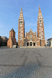 Votive Cathedral Szeged Stock Photos