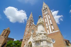 The Votive Church and Cathedral of Our Lady of Hungary stock photos