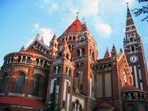 Votive Church - Szeged, Hungary royalty free stock photography