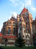 Votive Church - Szeged, Hungary royalty free stock photo